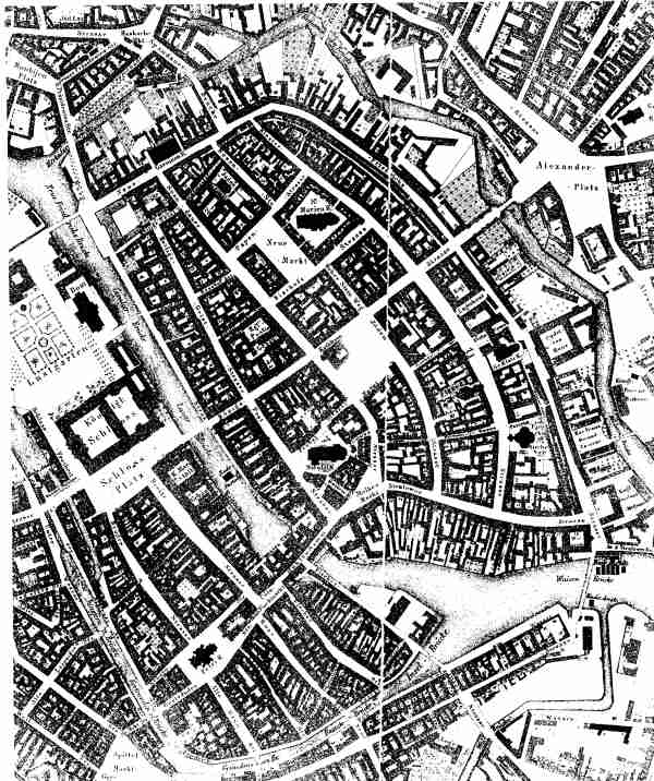 Historical Townmap of Berlin